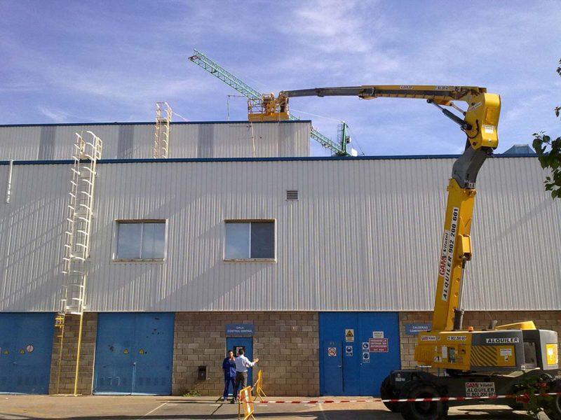 Instalacion fachadas chapa prelaca 3