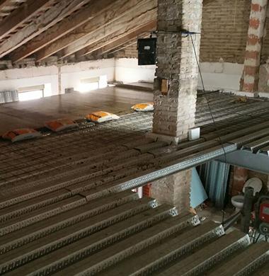 2015 Proyecto Estructura metalica y forjado colaborante
