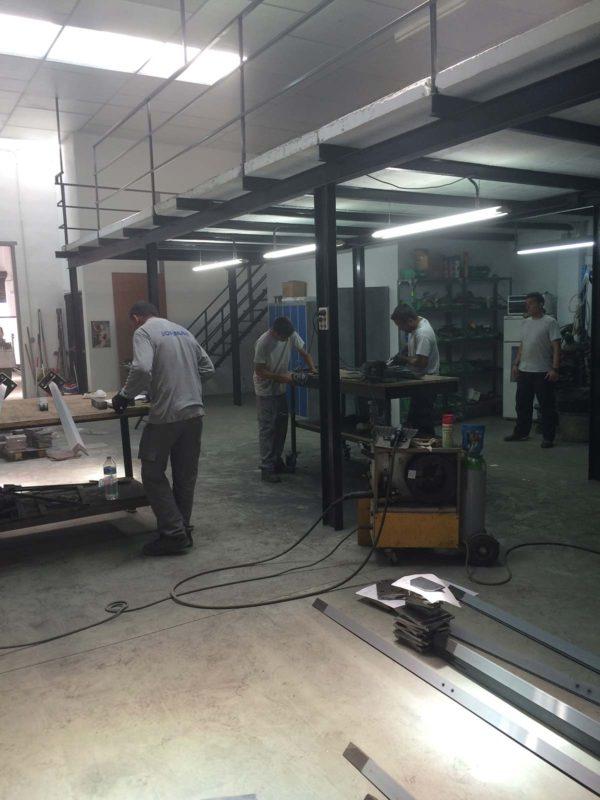 fabricacion estructura taller jofimar